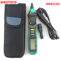 MASTECH MS8211D Pen Type Digital Multimeter AC DC Voltmeter Ampermeter With Resistance Ohm Multi Tester Over
