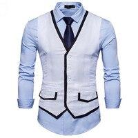 Custom men's business formal vest men's suit vest, free to choose the size and color