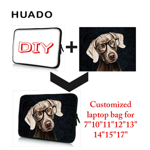 customized laptop sleeve notebook case computer bag for 7 9 10 11 12 13 15 15.6 17 inch for Macbook/mi notebook pro 13.3/asus(China)