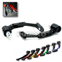 motorbike aluminum&ABS plastic front brake clutch lever protect guard handgrip fit 7/8''22mm For Yamaha MT-03 2008-2010