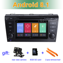 Android 8.1 Car DVD Multimedia Player for Mazda 3 2004 – 2009 with BT Wifi Radio Stereo GPS Navigation