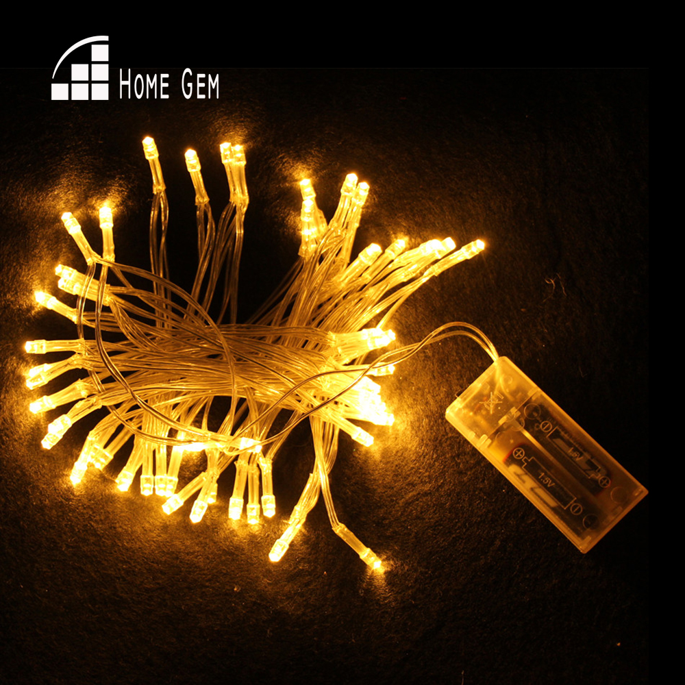100pcs LEDs 15M LED string light Battery Powered WATERPROOF Christmas LIGHT Fairy String for Holiday Wedding Party Deration