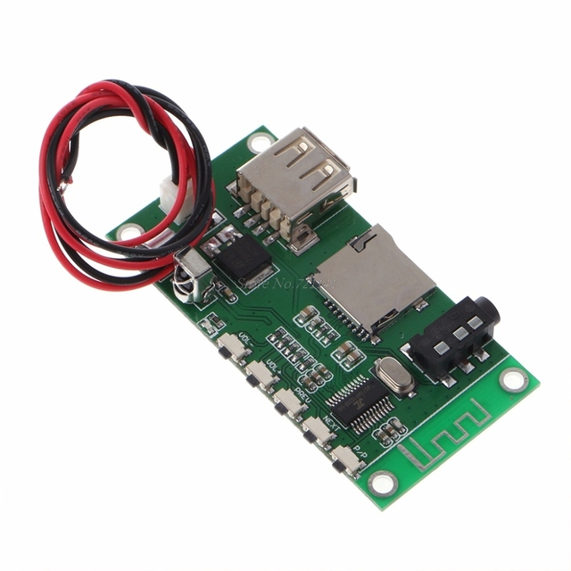 US $4 2 27% OFF KCX BT001 Wireless Bluetooth 4 2 Audio Receiver Module  Circuit Board Stereo Integrated Circuits-in Integrated Circuits from  Electronic