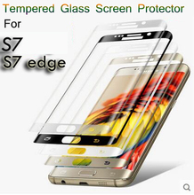 6 colors 9H 0 2mm 3D Curved Surface Screen Protectors Explosion proof full cover Tempered Glass