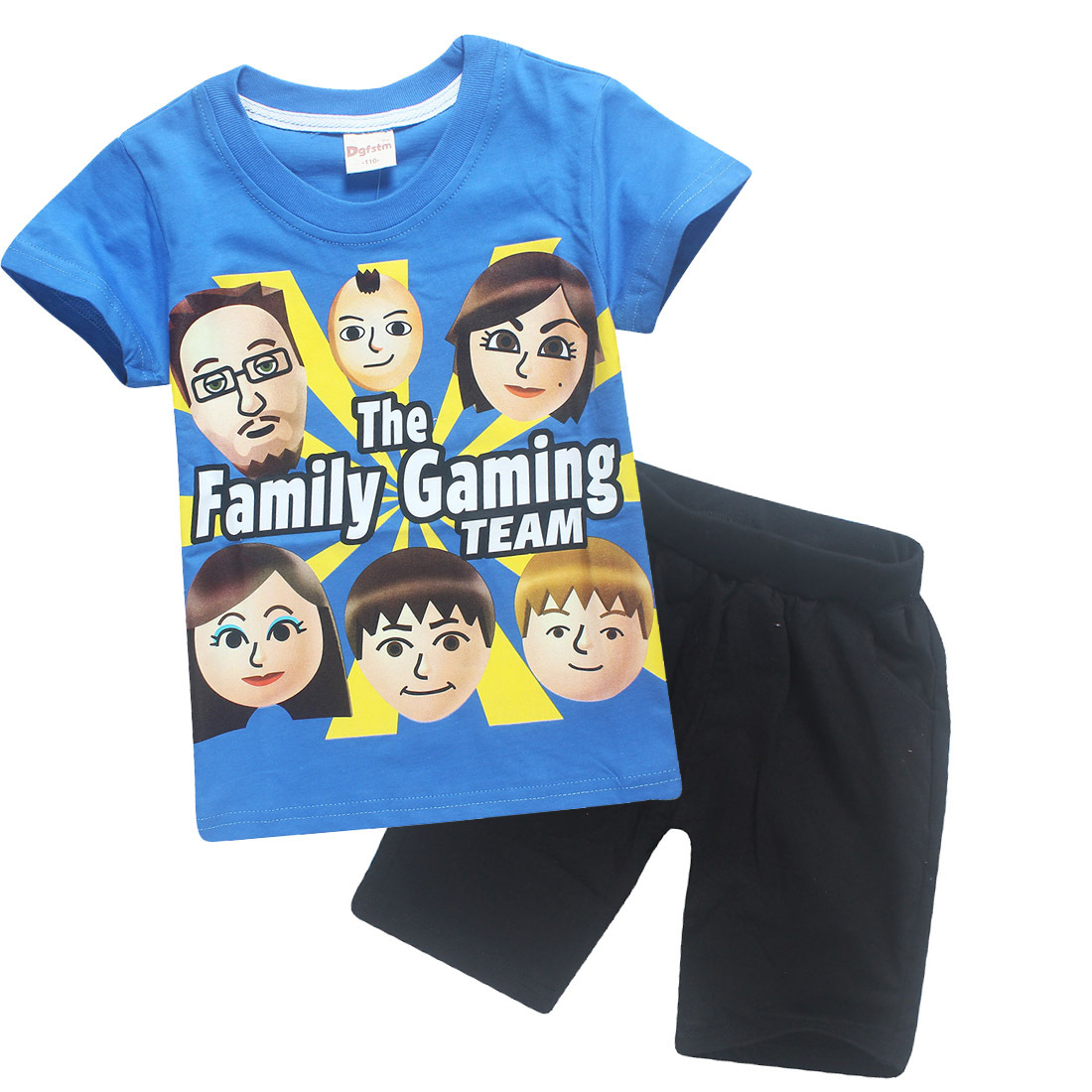 13e236dafc8c 4 12y 2018 Summer ROBLOX Cotton Children Clothing Sets FGTeeV Faces Baby  Girls Kids Boys T Shirts + Shorts Fgtv Sport Suit-in Clothing Sets from  Mother ...