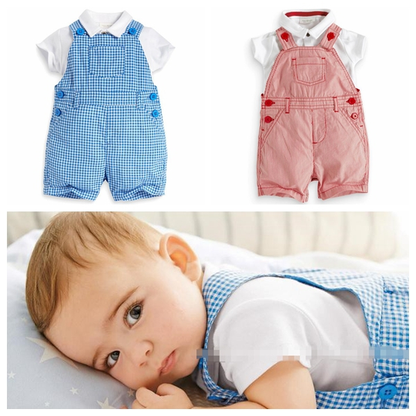 2019 Summer Style Baby Clothes Set Children Clothing Gilrs Boys Sport Suit Newborn Clothes Short Sleeve T-shirt +Overalls 2pcs