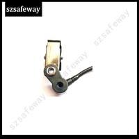 עבור baofeng 10 צינור אקוסטי שחור X נתיק עם סיליקון earbud עבור מוטורולה עבור KENWOOD עבור האוזנייה רדיו Baofeng שני בדרך (4)