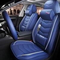 3D стильный, для спортивного автомобиля подушки сиденья для hyundai i30 ix35 ix25 Elantra, Santa Fe Sonata Tucson высокое волокна кожи автомобиль pad