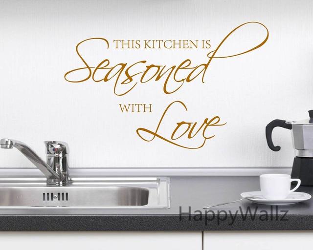 Kitchen Cabinet Decorative Decal Stickers