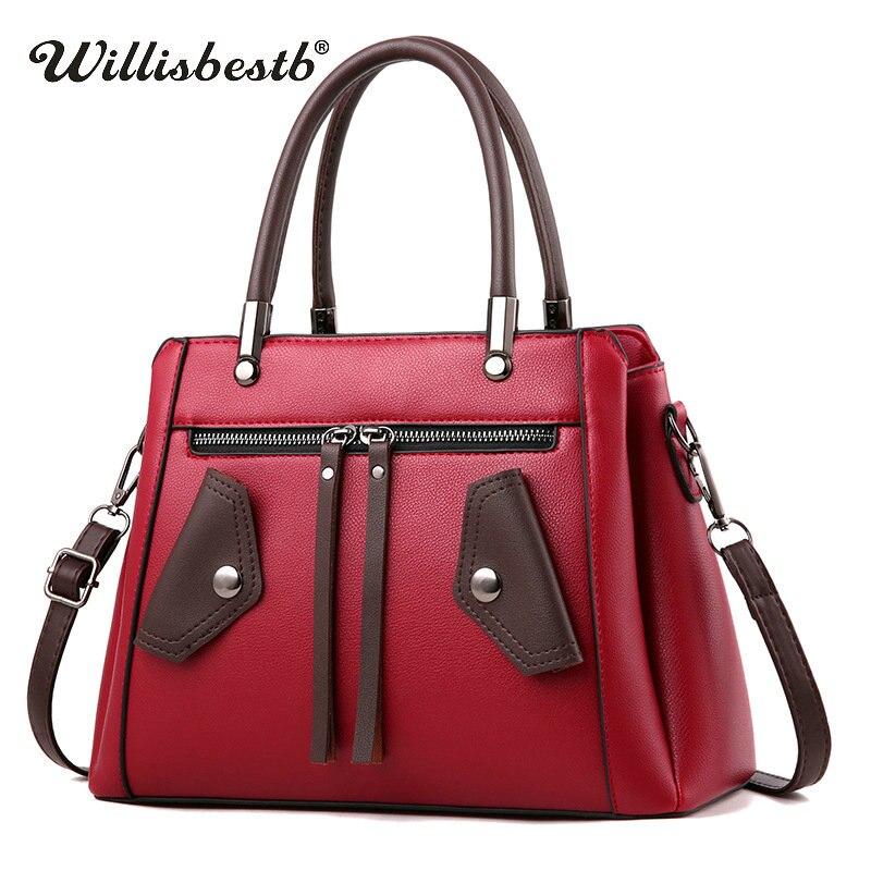 Модные женские туфли Сумочка Повседневное мягкие кожаные женские сумка клатч Дизайн женщина Crossbody сумки женские сумки на плечо для девочек