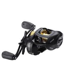 LINNHUE Baitcasting Reels Fishing Casting Reel With Magnetic Brake 8.1:1 12+1 BB Spinning 8KG Drag Left Right