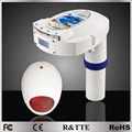 Соответствует CE/NF P90-307/ASTM стандартам, беспроводной anti-drowning бассейн безопасности сигнализация с солнечной энергии панель резервного аккумулятора