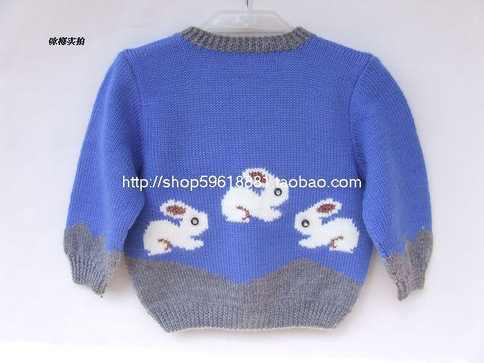 Hand Knitted Wool Cardigan Sweater For Baby Girl And Boy 6 12 13 18