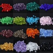 Новинка 5301 4 мм 1000 шт стеклянные кристаллы бусины биконус граненый свободный разделитель бисер DIY Изготовление ювелирных изделий U выбрать цвет