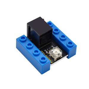 Image 4 - Kidsbits كتل الترميز سمكة البيرانا LED وميض وحدة لاردوينو البخار EDU (أسود و صديقة للبيئة)