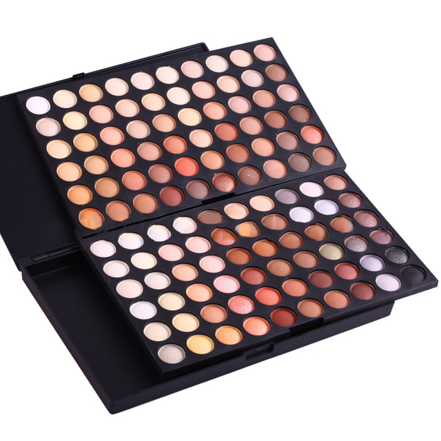Pro 120 Colors Eye Shadow Eyeshadow Palette Neutral Warm Makeup Eye Shadow Matte Cosmetic Eyeshadow Palette Set Makeup Cosmetics