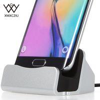 Multi-Função de Carregador USB Phone Holder Suporte Todos Os Android Smartphone Suporte de Carregamento de Sincronização Dock Para Samsung Galaxy S6 S6 HTC