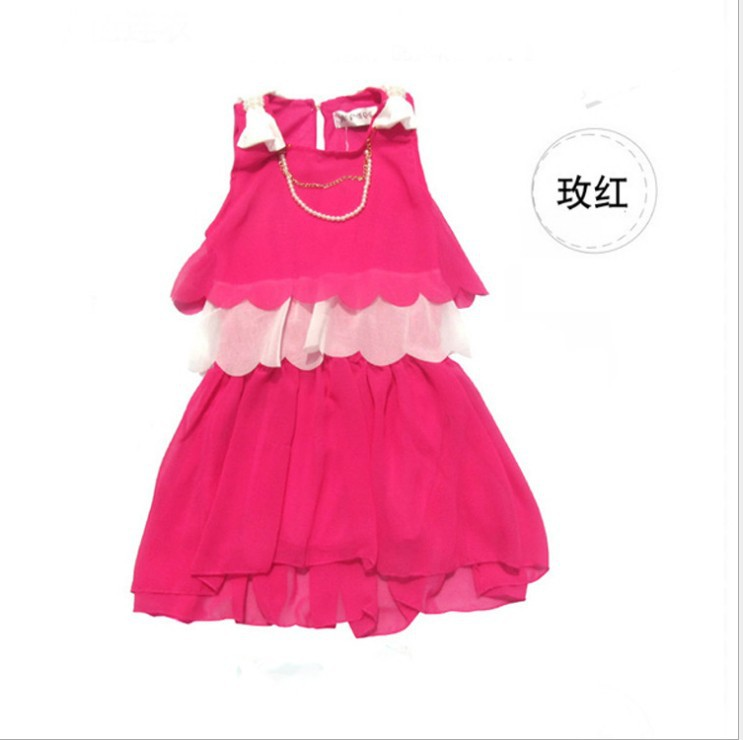 2c66281dbb9 Free shipping New Children dress Baby Girls Clothes lovely wholesale summer  baby girl chiffon dress-in Dresses from Mother   Kids on Aliexpress.com ...