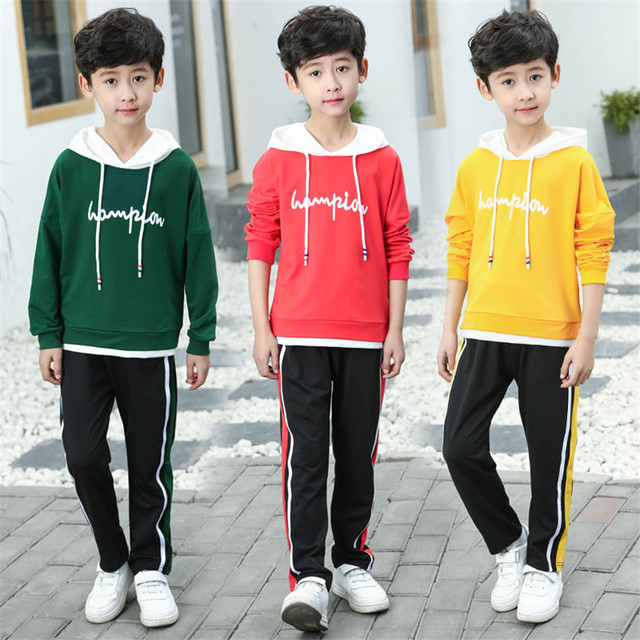 5cb0ebee63857 3-12 y child boy outfits clothes for boys 12 years old set long sleeve  hoodies spring autumn sport children clothing 2019 new