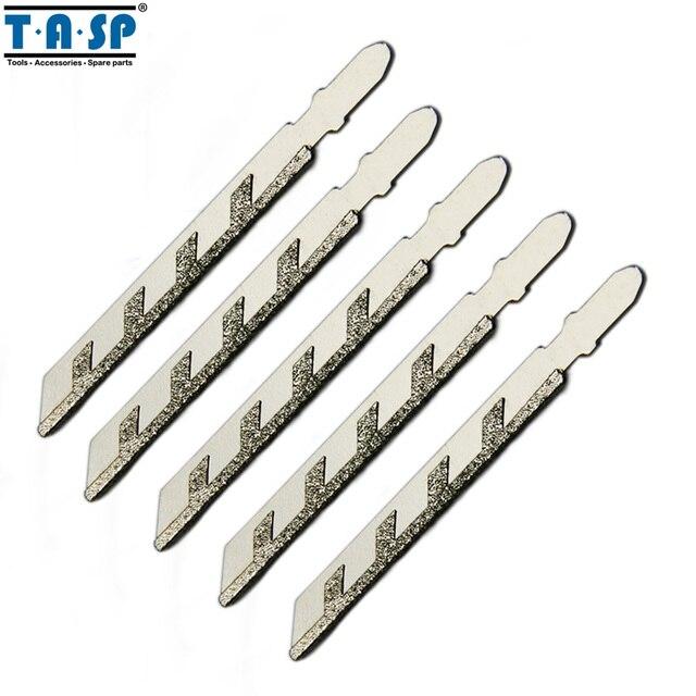 Тасп 5 шт. 100 мм t хвостовика алмазные лобзик лезвия для кладки гранит мощность резки инструменты аксессуары