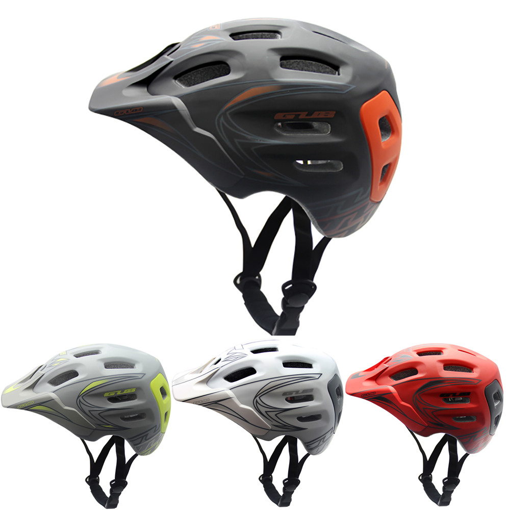 GUB XX7 Ultralight Cycling MTB Mountain AM Racing competition Bicycle Bike Helmet Integrally molded Visor EPS