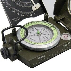 Image 4 - Sobrevivência ao ar livre bússola militar acampamento caminhadas bússola de água geológica bússola digital campismo equipamento navegação