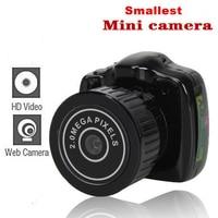 Plus petit Mini Vidéo Caméra Petite Poche DV DVR Appareil Photo Numérique Caméscope Enregistreur Web Cam avec TF Slot