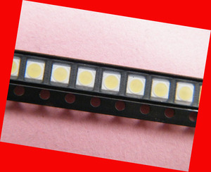 Image 4 - 350piece/lot for repair LG LCD TV LED backlight Article lamp SMD LEDs 1W 3v 3528 2835 Cold white light emitting diode