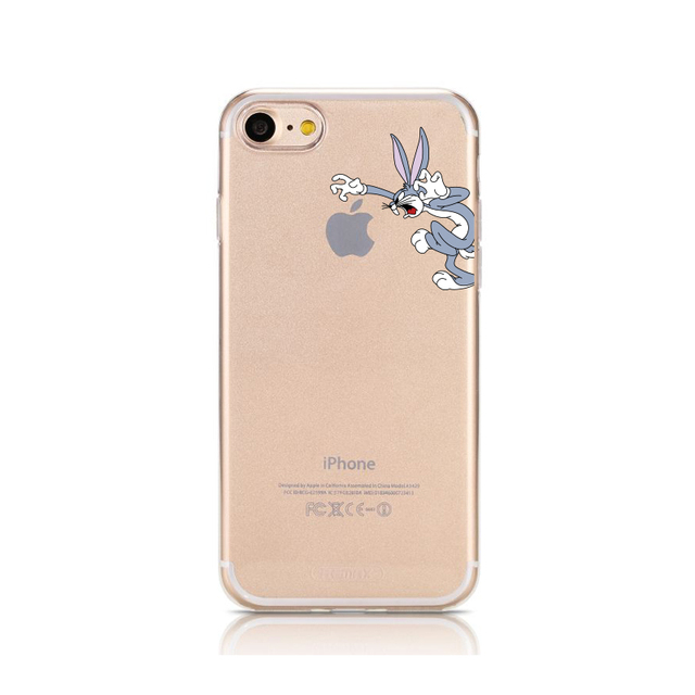 info for d9c04 cc92b US $1.39 30% OFF|Jekacci Bugs Bunny for iPhone X Case Cartoon Rabbit Soft  Clear Silicone Phone Cover for iPhone 7 7 6 6s plus 8 Xs Max XR Cases-in ...