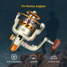 Colorful Metal Spinning Reel for Fishing