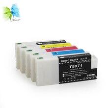 WINNERJET 350ml Bulk Sublimation Ink Cartridge With Chip For Epson 7700 9700 Printer цены онлайн