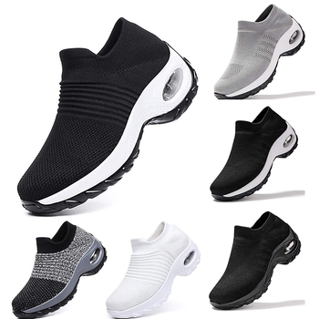 Mesh Women Men  Outdoor  Running Shoes Couples Breathable Soft Athletics Jogging  Sneaker Running Shoes