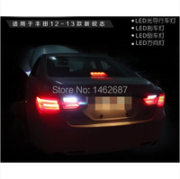 Free Shiping 12V 6000k LED Rear Light For Toyota Mark 2010 2013 Taillight Lamps Auto Light