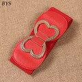2016 Fashion Belts for Women PU Leather Vintage Waist Oblique Buckle Wide Strap Cross Body Women Cummerbund Belt Obi Female Wide