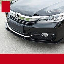 Lsrtw2017 pp materiale auto paraurti anteriore per honda accord 2012 2013 2014 2015 2016 2017 9th accord