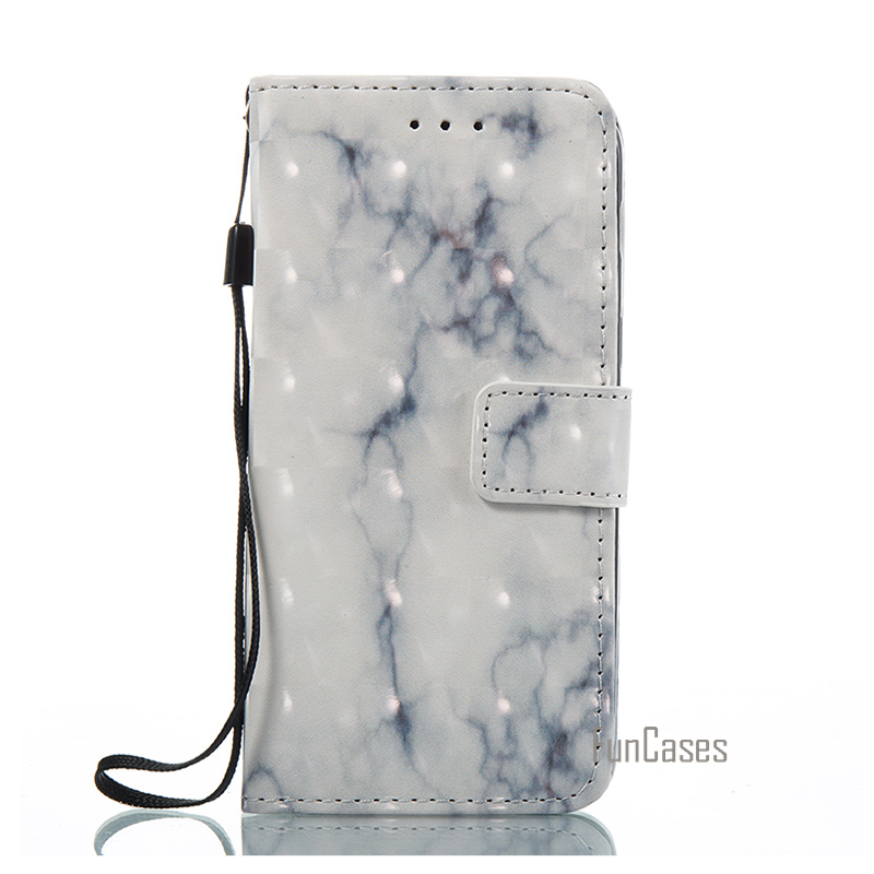 Leather Wallet Flip Marble Case For Samsung Galaxy S7 Edge Phone Cover Accessory For Samsun Sumsung Samsug Galaxi Gelaksi coque