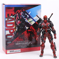 PLAY ARTS KAI Marvel X MEN Deadpool PVC Action Figure Collectible Model Toy 25cm