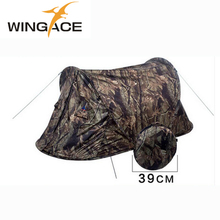Outdoor camping Pop up tent Ultralight Portable Camouflage AutomaticTent 1 person Hunting fishing Beach Hiking tents 2kg