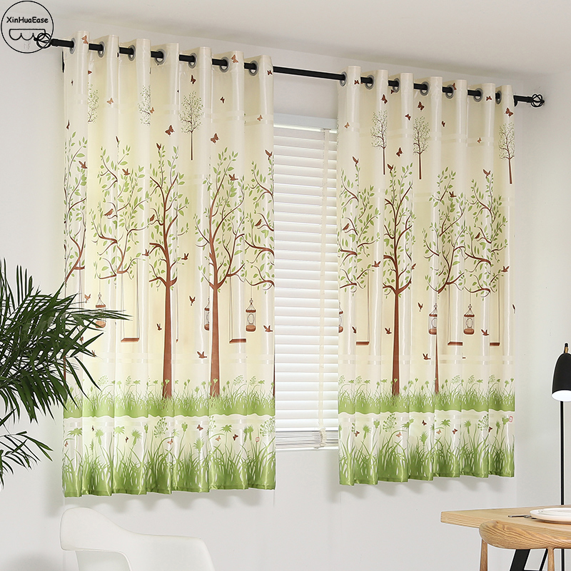 XinHuaEase Short Curtains For Kitchen On The Window Thick