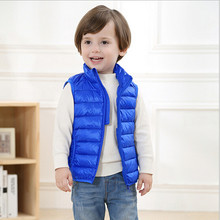 High Quality Children Clothing Winter Outerwear&Coats Thick little one boys Girls Vest Hooded Kids Jackets Baby Girl Warm Waistcoat