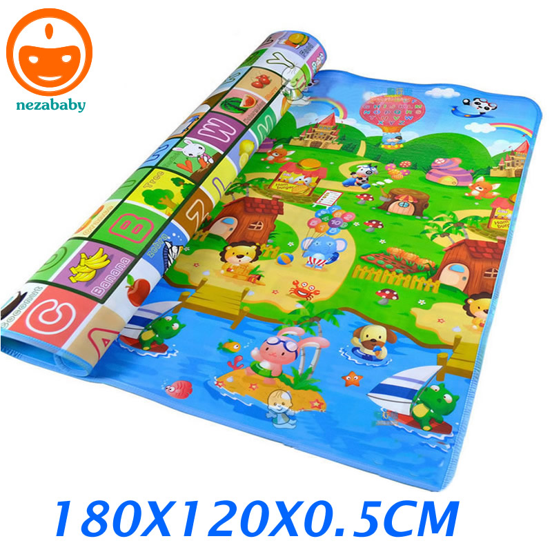 180CM Infant Play Mat Children Children Rugs Kids Play