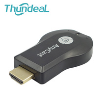 Anycast Multidisplay M2 Plus WiFi Display Dongle Miracast DLNA Airplay HDMI 1080 P Receptor de Aire Espejo para Proyector GM60 YG400