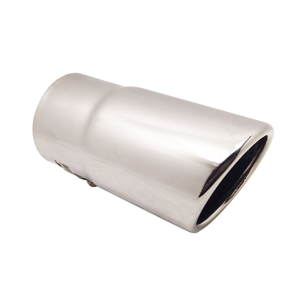 """38Mm 1.5/"""" Polished Stainless Steel Exhaust Tube 0.5M"""