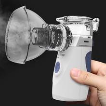 Health Care Mini Handheld portable Inhaler Nebulizer silent Ultrasonic inalador nebulizador Children Adult Rechargeable Atomizer