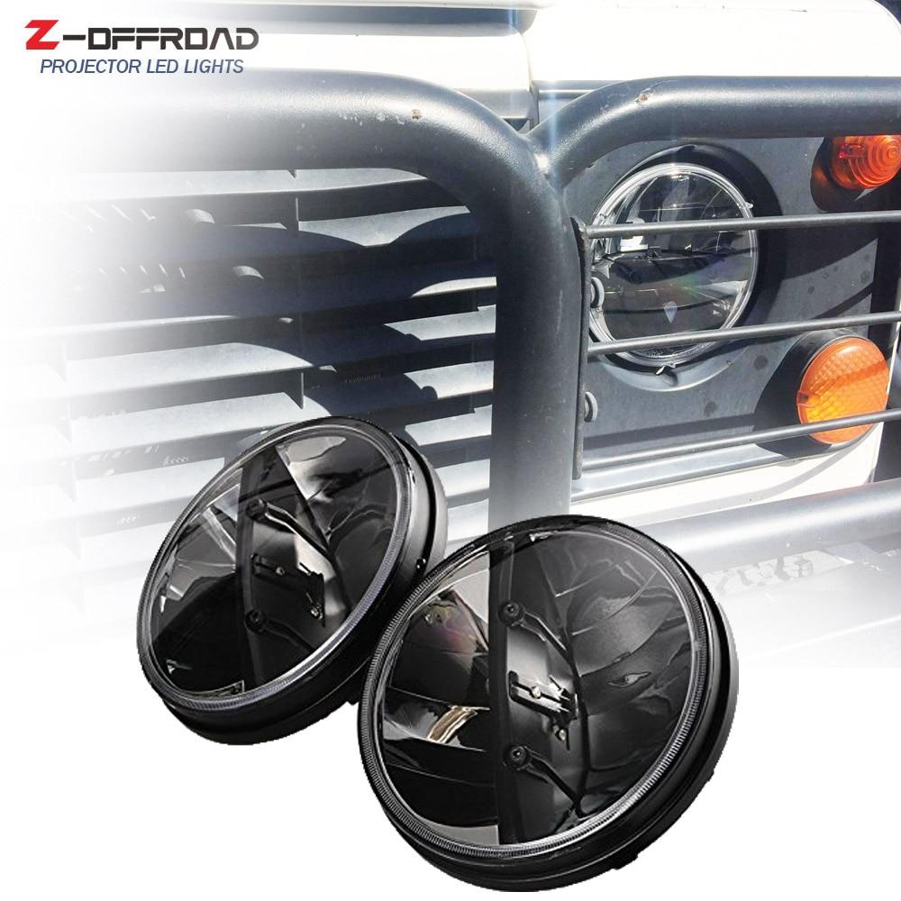 7inch LED Headlight For Land Rover Defender 90/110 7