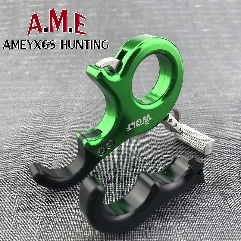 New 3 Fingers/4 Fingers Free Exchange Trigger Release Compound Bow Stainless Steel Archery Outdoor Shooting Recurve Bow Camping allen company exacta xx archery buckle release