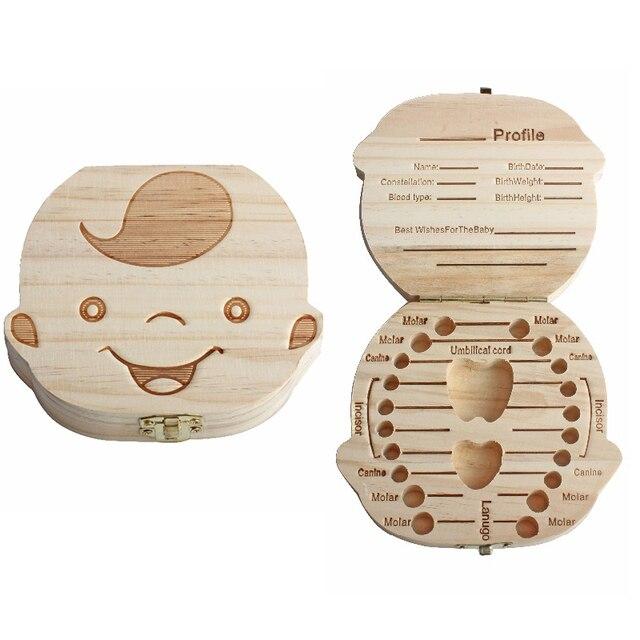 Kreative Geschenk Holz Baby Mädchen Jungen Zahn