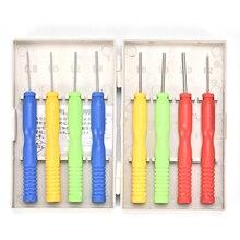8 pçs/lote de aço inoxidável antiaderente estanho oco núcleo agulha kits para ferramentas de solda auxiliar boa qualidade