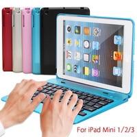 Новые Водонепроницаемый пыле 2in1 Bluetooth 3.0 Беспроводной клавиатура складная чехол крышка подставка держатель для iPad Mini 1 2 3