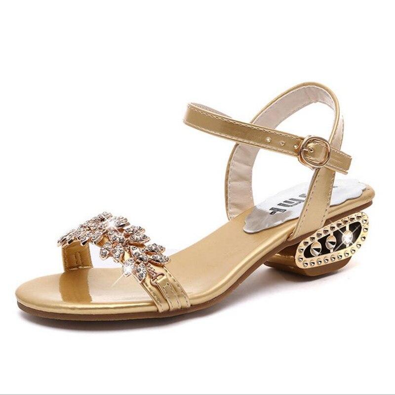Musim panas baru Eropa stasiun Kata gesper Ikan mulut Romawi sandal - Sepatu Wanita - Foto 1